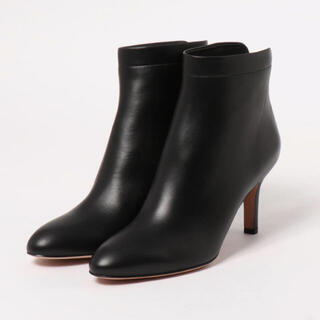 ペリーコ(PELLICO)の新品 PELLICO ペリーコ  バックジップショートブーツ ブラック 36(ブーツ)