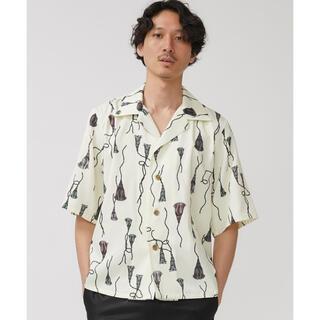 サンシー(SUNSEA)の【LIBERUM】タッセルプリントシャツ(シャツ)
