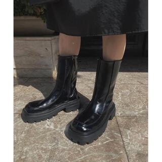 アメリヴィンテージ(Ameri VINTAGE)の【新品未使用】Ameri SHARK SOLE SQUARE BOOTS(ブーツ)