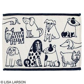 リサラーソン(Lisa Larson)のリサ ラーソン スケッチドッグランチョン ランチョンマット(テーブル用品)