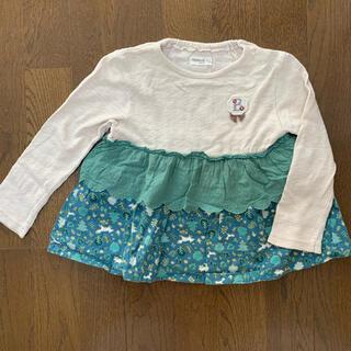ビケットクラブ(Biquette Club)の長袖カットソー サイズ90(Tシャツ/カットソー)
