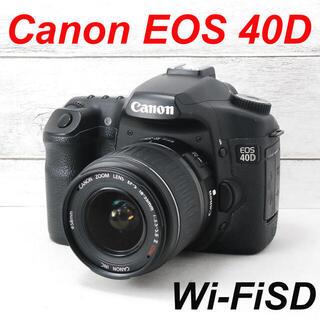 Canon - ❤️本格一眼レフ❤️スマホ転送❤️Canon EOS 40D