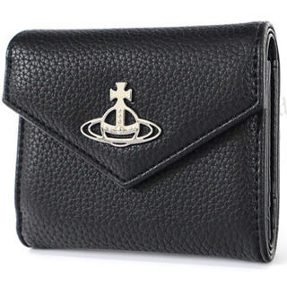 Vivienne Westwood - ヴィヴィアン・ウエストウッド ミニ財布 折りたたみ 黒