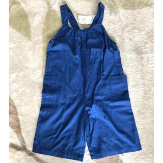 サンカンシオン(3can4on)の子供服 サロペット オーバーオール(パンツ/スパッツ)