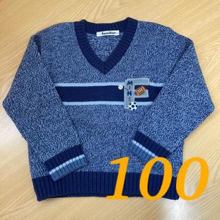 familiar - ファミリア 100 ボール セーター