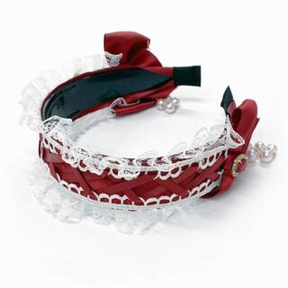 アンクルージュ(Ank Rouge)のヘッドドレス風カチューシャ(カチューシャ)
