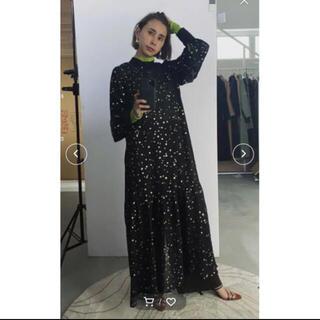 Ameri VINTAGE - ゴールド⭐️可愛い✨AMERI❤️AIRY HIGH NECKED DRESS