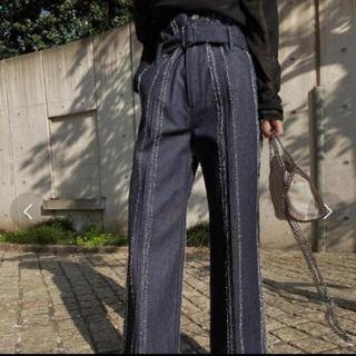 アメリヴィンテージ(Ameri VINTAGE)のシュウ様専用 NEEDLE STRIPE DENIM PANTS(デニム/ジーンズ)