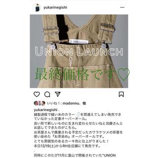 ロンハーマン(Ron Herman)のRH UNION LAUNCH skirt(サロペット/オーバーオール)