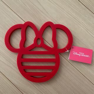 Disney - 新品 ミニー シリコーン鍋敷
