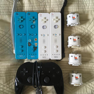 ウィー(Wii)のwii リモコン5個 モーションプラス4個 動作確認済み(その他)