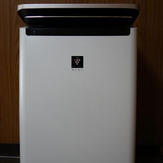シャープ(SHARP)のKI-NP100-W  SHARP プラズマクラスターNEXT 加湿空気清浄機(空気清浄器)