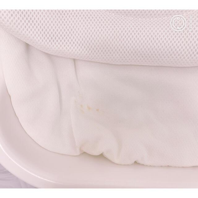 KATOJI(カトージ)のカトージ スイングハイローラック エスコート ホワイト キッズ/ベビー/マタニティの寝具/家具(ベビーベッド)の商品写真
