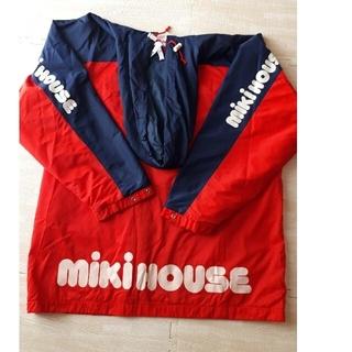 ミキハウス(mikihouse)の希少 MIKI HOUSE MIKI HOUSE パーカー レインコート (ナイロンジャケット)