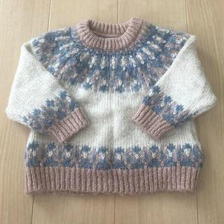 ZARA KIDS - zara baby mini kids ジャガードニットセーター