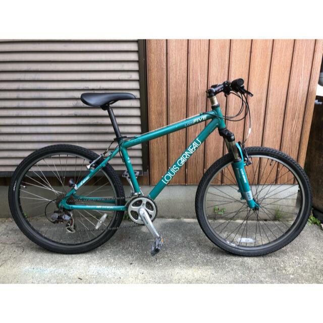 LOUIS GARNEAU(ルイガノ)の2009 Louis GARNEAU LGS-FIVE サイズ420  スポーツ/アウトドアの自転車(自転車本体)の商品写真