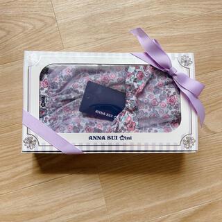 ANNA SUI mini - ANNA SUI mini 小花柄エプロン×ヘアバンドセット