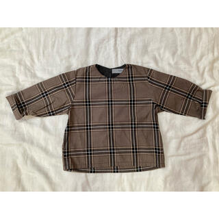 Caramel baby&child  - チェックプルオーバーシャツ 90サイズ