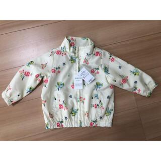 西松屋 - 長袖 羽織 女の子 80 花柄