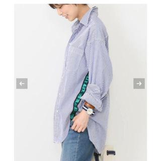 DEUXIEME CLASSE - Deuxieme Classe 別注 アメリカーナ テープ付 1ポケシャツ