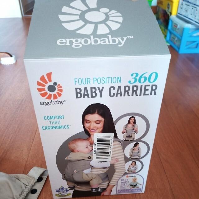 Ergobaby(エルゴベビー)のエルゴベビー 360 抱っこ紐 キッズ/ベビー/マタニティの外出/移動用品(抱っこひも/おんぶひも)の商品写真