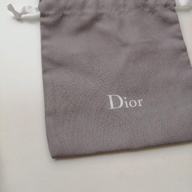 Dior(ディオール)のDior 巾着袋 ノベルティ コスメ/美容のコスメ/美容 その他(その他)の商品写真