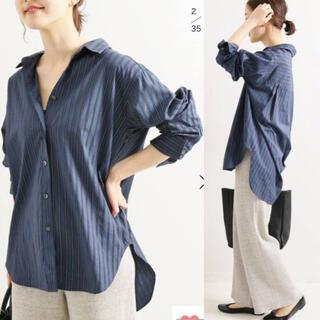 IENA - 2019AW レギュラーカラーシャツ  pc