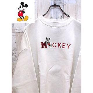 ミッキーマウス(ミッキーマウス)のトレーナー XL Mickey ミッキーマウス(スウェット)