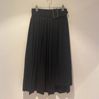 ジャーナルスタンダード(JOURNAL STANDARD)の美品 ジャーナルスタンダード ウールロングスカート 巻きスカート(ロングスカート)