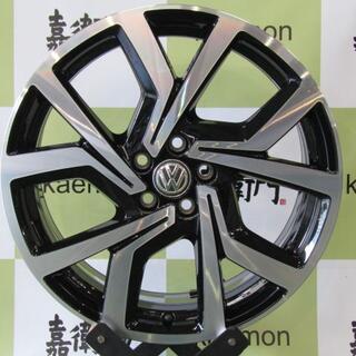 フォルクスワーゲン(Volkswagen)のフォルクスワーゲン AW系 POLO GTIオプション純正 ブレシア 4本セット(タイヤ・ホイールセット)