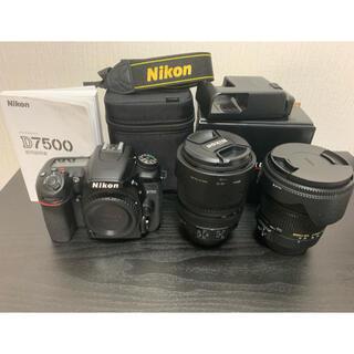 Nikon - Nikon D7500 レンズキット +sigmaレンズセット