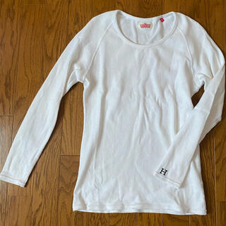 ハリウッドランチマーケット(HOLLYWOOD RANCH MARKET)のHOLLYWOOD RANCH MARKET カットソー  白 3 (Tシャツ(長袖/七分))