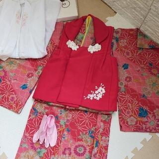 キャサリンコテージ(Catherine Cottage)の七五三 着物セット 3歳 美品(和服/着物)