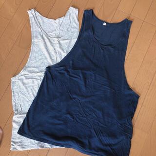 ムジルシリョウヒン(MUJI (無印良品))の授乳用タンクトップ M〜L 2枚セット(タンクトップ)