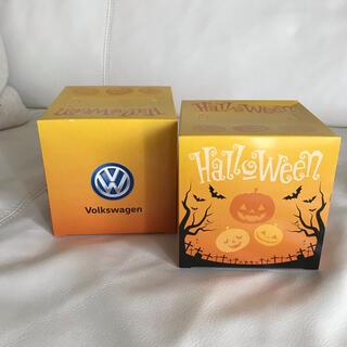 フォルクスワーゲン(Volkswagen)の【新品】フォルクスワーゲンBOXティッシュ2セット(ノベルティグッズ)