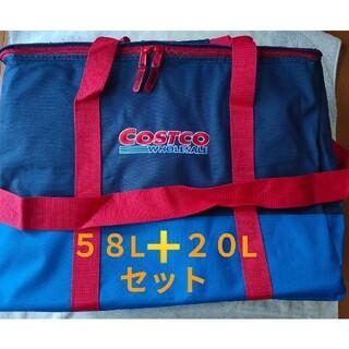 コストコ(コストコ)のコストコ 保冷バッグ58L +ECOバッグ Costco 2個セット(エコバッグ)