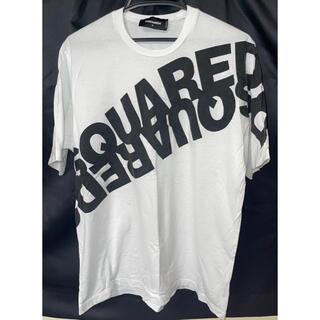 ディースクエアード(DSQUARED2)のDSQUARED2 DSQ2 ディースクエアード 半袖 Tシャツ 白 S(Tシャツ/カットソー(半袖/袖なし))