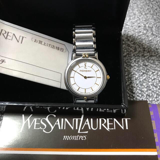 サンローラン(Saint Laurent)の美品 イブサンローラン 腕時計(腕時計)