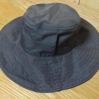 サンバリア100 ハット ブラック 帽子 日焼け対策