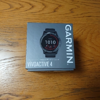GARMIN - Garmin ガーミン vivoactive4  GPS スマートウォッチ