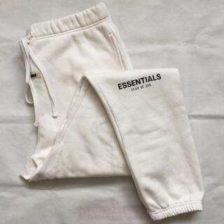 FEAR OF GOD - FOG Essentials Sweatpants スウェットパンツ 白 M