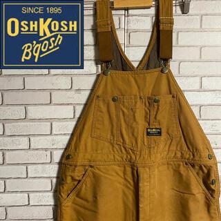 OshKosh - 90s 古着 オシュコシュ  オーバーオール サロペット ダック地 ダブルニー