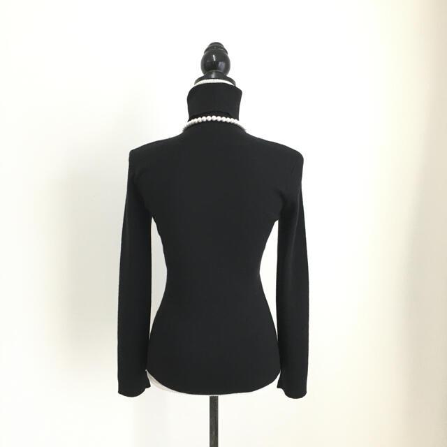 FOXEY(フォクシー)の美品 フォクシー FOXEY カシミヤシルク タートル セーター レディースのトップス(ニット/セーター)の商品写真