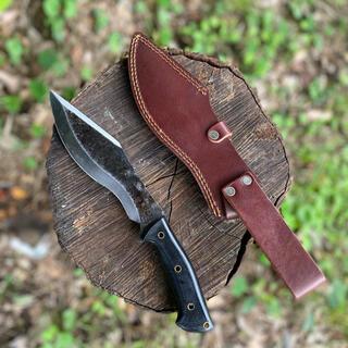 《レザーシース付き》【US Bushcraftting Knife①】