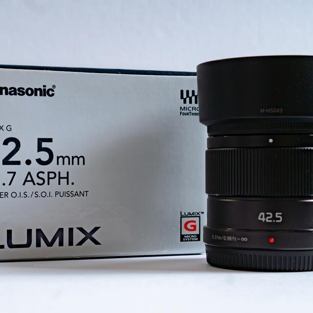 Panasonic(パナソニック)のPanasonic LUMIX G 25mm/F1.7・42.5mm/F1,7 スマホ/家電/カメラのカメラ(レンズ(単焦点))の商品写真