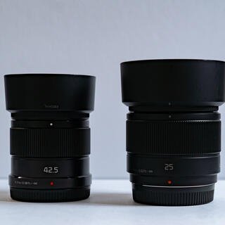 Panasonic - Panasonic LUMIX G 25mm/F1.7・42.5mm/F1,7
