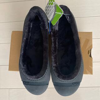 crocs - crocs Black NANOOK  新品 未使用です。24センチ