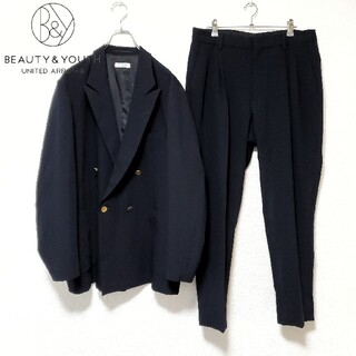 BEAUTY&YOUTH UNITED ARROWS - BEAUTY&YOUTH UNITED ARROWS セットアップ ネイビー
