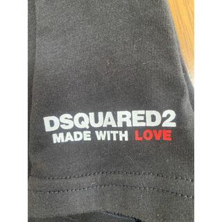 ディースクエアード(DSQUARED2)のDSQUARED2 ディースクエアード Tシャツ ブラック サイズS(Tシャツ/カットソー(半袖/袖なし))