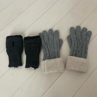 ユニクロ(UNIQLO)のユニクロ手袋2点セット(手袋)